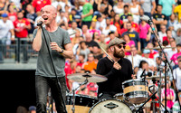 The Fray - 8/2/2014 - The Halftime Performance at the International Champions Cup (Real Madrid Vs. Manchester United)